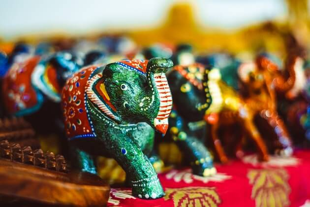 Paint Your Own Wooden Elephant