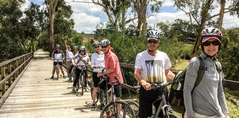A Bike Ride In The Tea Country