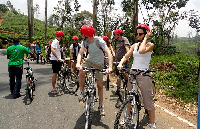Nuwara Eliya City Tour in Cycle