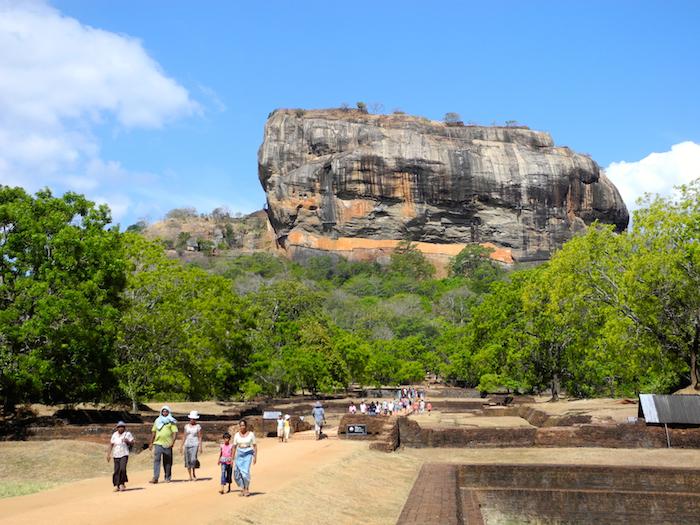 A Guided Visit to Sigiriya Rock Fortress