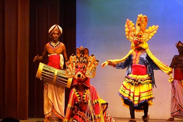 Behind The Scenes Of a Traditional Sri Lankan dance performance