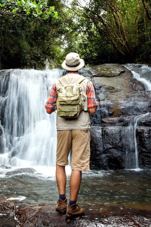 Nature Walk - 05 Waterfalls & Rainforest Exploration