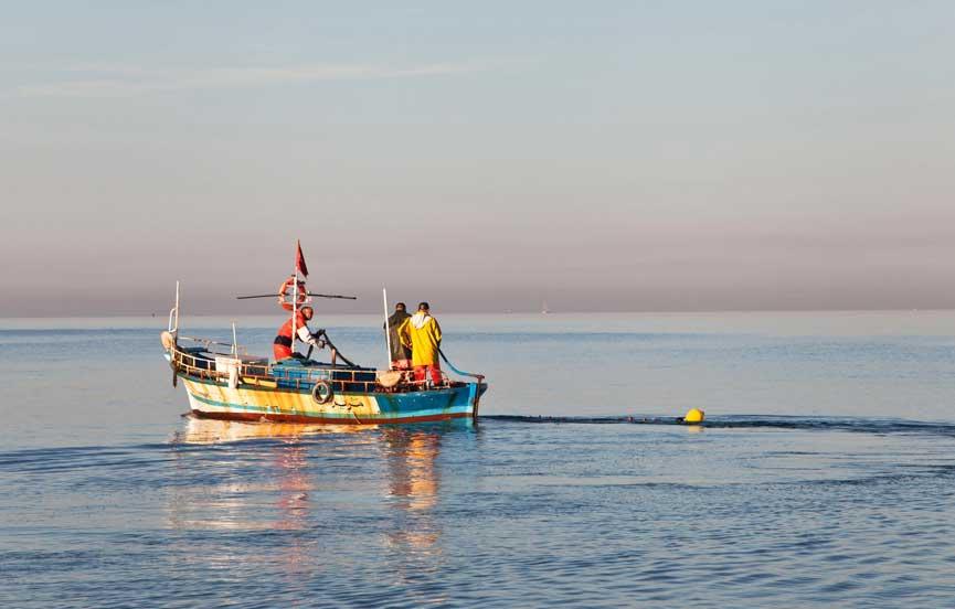 Fishing- Local fisherman fishing boat