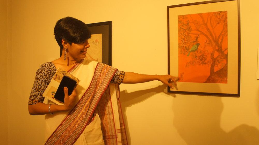 The Kerala Museum with Aditi