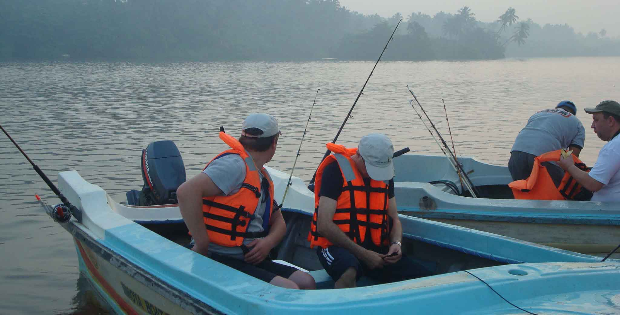 Deep Sea Fishing at Negombo