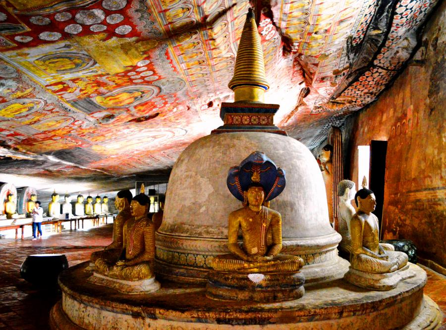 A Guided Visit to Dambulla Cave Temples
