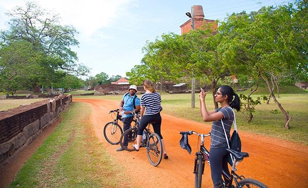 Visit To Anuradhapura By Bike