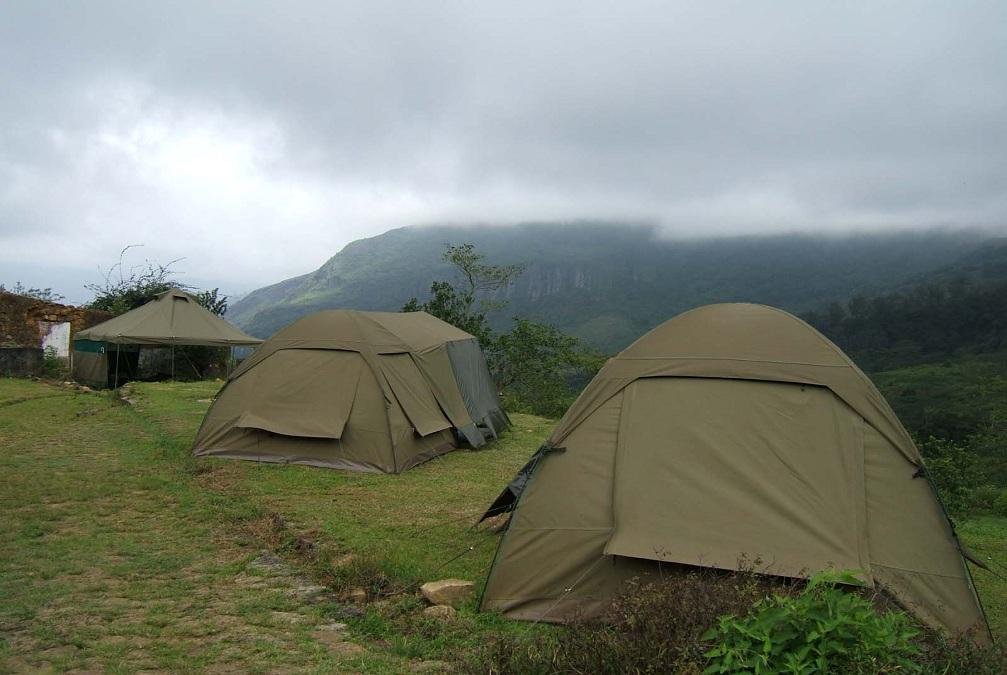 Camp in the Wilderness of Sri Lanka