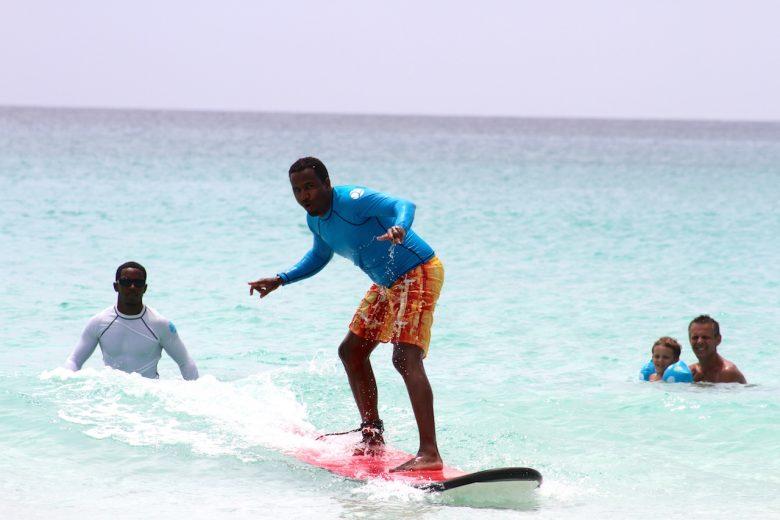 Surf Clinic With Coach Tharanga