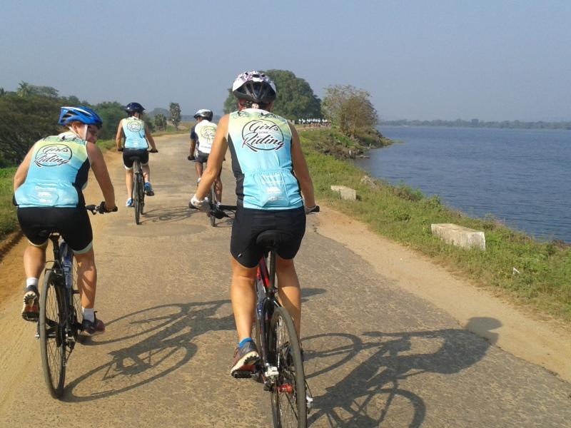 Cycling in Yala National Park Boundary