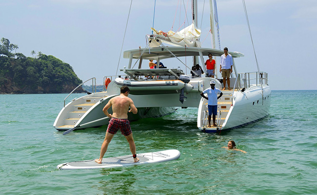 Sailing and Snorkeling on Topaz